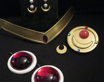 Sailor Moon cosplay accessory set (anime version)