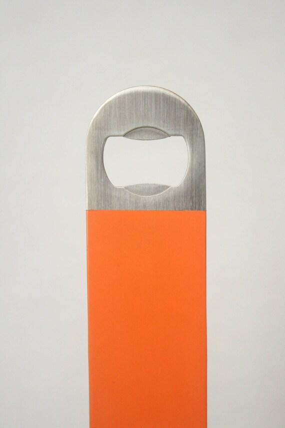 Bottle Opener - Orange, Masculine, Industrial