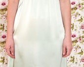 Silk Slip   Luxurious semi-fitted silk slip with stretch and sheer detailing.