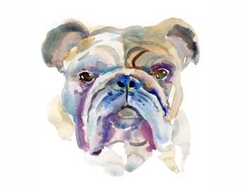 Custom Pet Portrait, Pet Portrait, Watercolor Painting -  Dog Portrait, Dog Lover, Gift