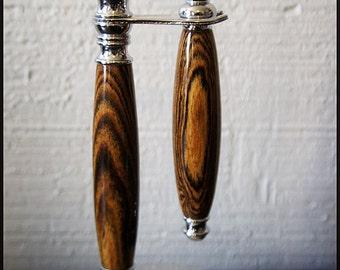 Wooden Shaving Set for Gillette Mach 3 or Venus blades Wet Shaving Custom shaving Kit in Tiger Wood