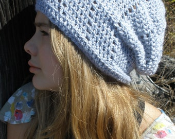 Instant download - PDF crochet pattern, crochet hat for spring #21