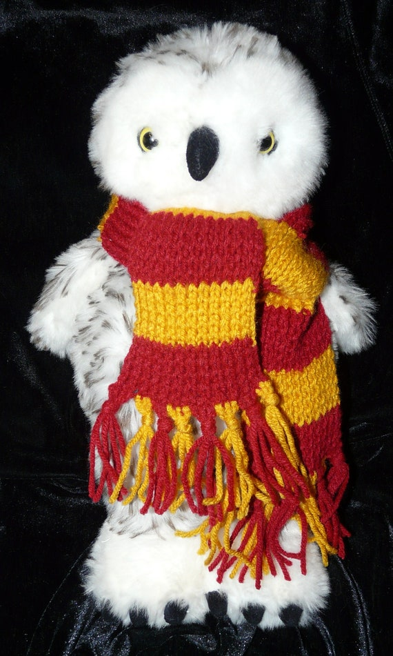 Harry Potter Griffindor Scarf for Stuffed Animal Doll Build