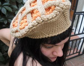 Orange Jam Pie Hat