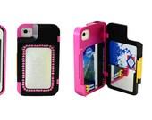 Valentine Gift iPhone 4/4S Case Wallet with Swarovski Crystals