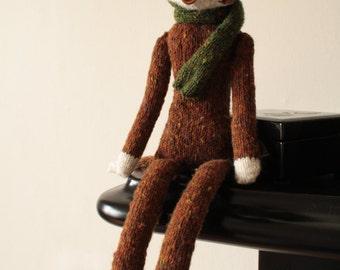 DIY:  Sophisticated Mr. Fox Knitting Pattern PDF
