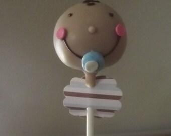 Baby Boy Cake Pops