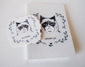 Grumpy Cat Notebook & Temporary Tattoo pack