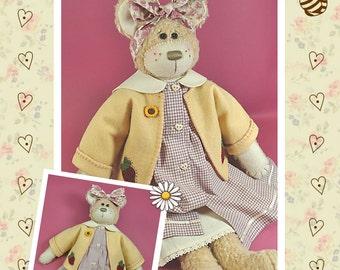 Maisy Rag Doll Bear Pattern