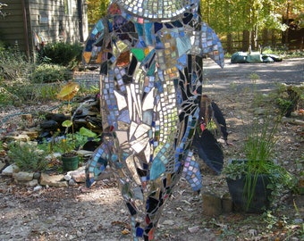 MOSAIC FISH SCULPTURE