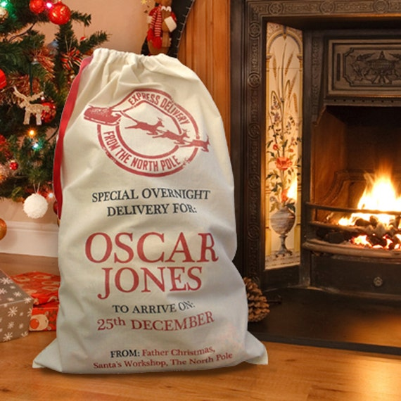 Personalised Heirloom Christmas Santa Sacks / Christmas Sacks