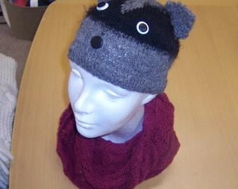 Raccoon Hat for Kids