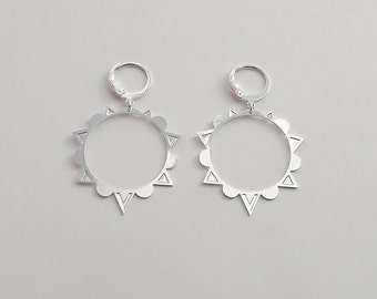 End of collection-20% earrings silver plated