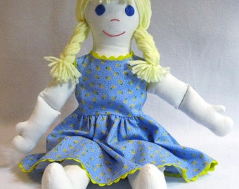 """Laura - Cloth 18"""" Doll and Sundress"""