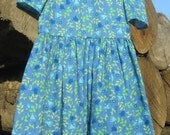 Blue Bells Modest Poly-Cotton 2-3T Toddlers Dress