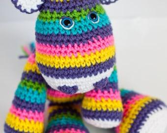 Crochet Giraffe Amigurumi Toy (Sunshine) - Made to Order