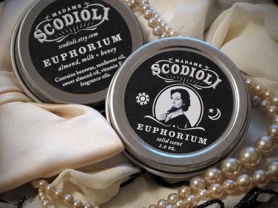 LAST ONE - Euphorium - Almond, Milk and Honey Solid Scent