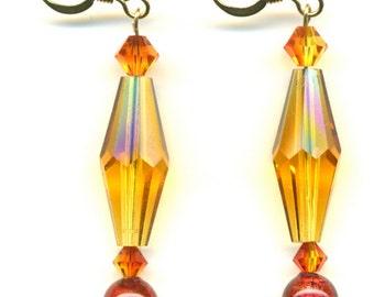 Festive Crystal Earrings