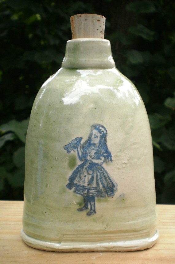 Mad Hatter Tea Party flask