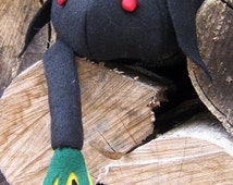 Stuffed Animal - Black Sheep - Ball Plush