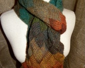 Entrelac Scarf - Reserved for Sharon