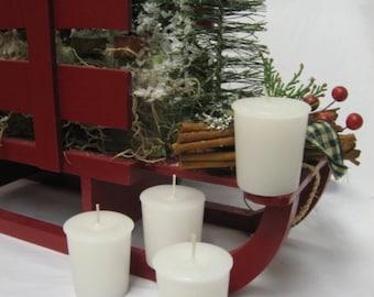 WINTER WOODS (4 votives or 4-oz soy jar candle)