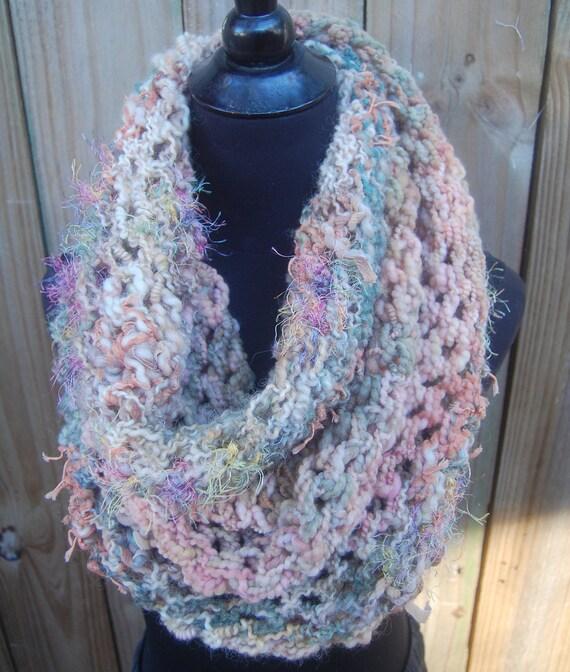 Handmade Crochet Mobius Cowl Neckwarmer OOAK