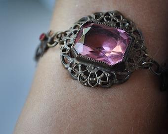Victorian Bracelet Shell Link
