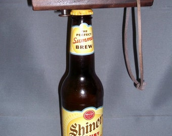 Wood Bottle Opener - Compact Bottle Opener - Bottle Opener