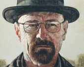 Heisenberg, Print from Original Painting