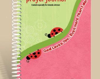 Prayer Journal Personalized - God's Love - John 3:16