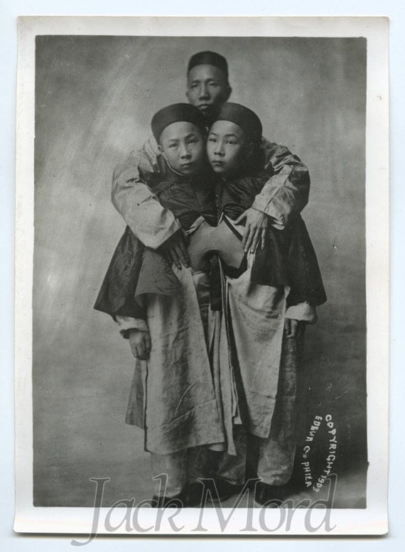 Items similar to vintage photo of conjoined twins like for Vintage sites like etsy