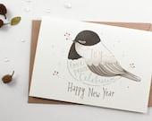 Holiday Card - Happy New Year - Greeting Card