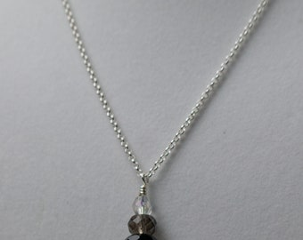 Gray Scale Necklace