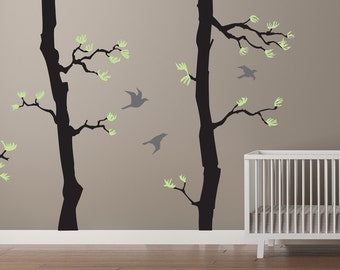 Forest Wall Decals | Etsy Part 91