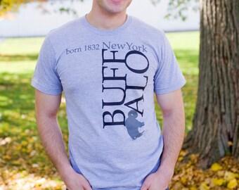 T-Shirt Buffalo, New York Born Unisex
