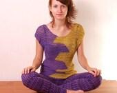 Crochet Pattern PDF - Neon Top - sizes XS to XL - Crochet Top Pattern instant download