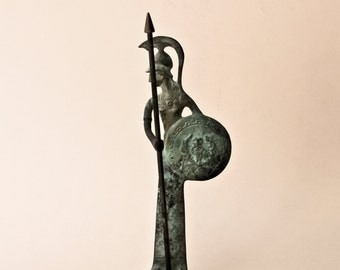 Goddess Athena Bronze Statue - Museum Quality Art - Greek Mythology