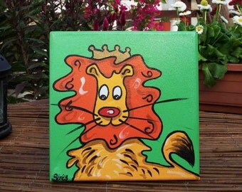 The Lion King - Original Handmade Painting
