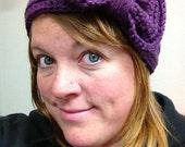 Crochet Bow Headband