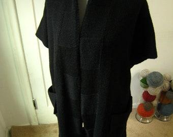 Kimono Sweater - Black