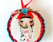 Home decoration , Lottie Popjes Fabric ornament