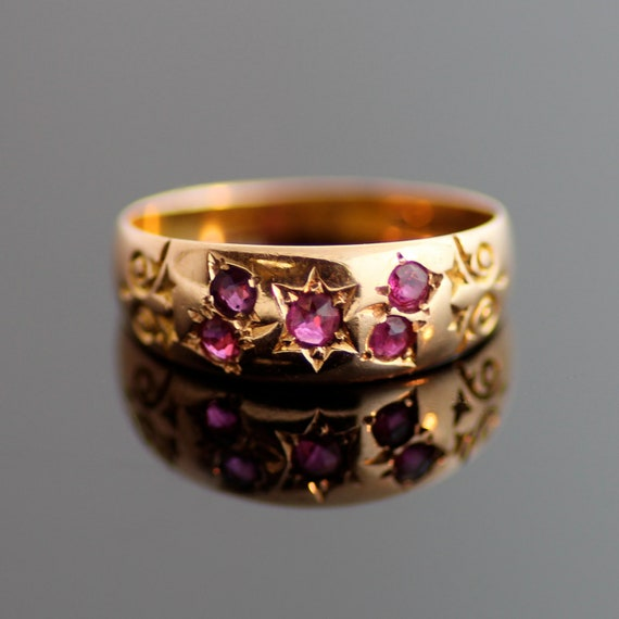 Antique Ruby Band
