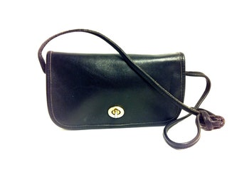 Black Leather Satchel Small - Saddle Leather Cross Body Station Bag - Small Leather Messenger Bag