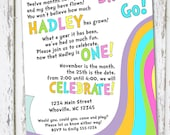 Oh The Places You'll Go Birthday Invite