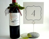 Debra's Custom Order for 8 Wedding Table Number Holders