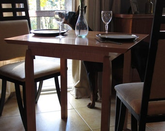 Narrow Dining Table For Two: Small Kitchen Table, For Breakfast Nook/ Card  Table