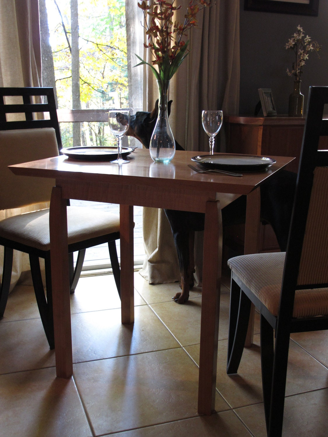 Narrow Dining Table For Two: Small Kitchen Table For
