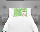 Delta Zeta Sorority Pillowcase Design your Own Personalized Sorority Pillowcase Perfect BIG LITTLE Gift with Sorority Letters