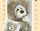 PDF - Sophie Artist Bear Pattern
